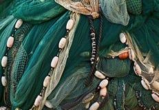 Sieć dla łapać ryba zdjęcia royalty free