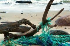 Sieć dla ryba plątał sieć, blaszka połowu sieć Fotografia Royalty Free