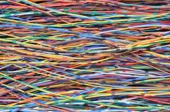 Sieć kabli linie Zdjęcia Royalty Free