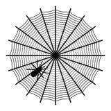 sieć pająka ilustracyjna wektora Obrazy Royalty Free