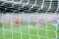 Sieć piłka nożna cel Zdjęcia Stock