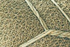 Sieć rybacka z arkaną Zdjęcia Royalty Free