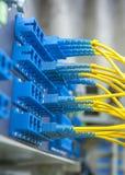 Włókno kabla serw z technologia stylem obraz stock