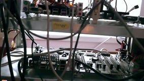 Sieć serweru stojaka panel z dyskami twardymi w a zbiory