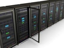 Sieć serwery Zdjęcia Stock