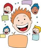 sieć socjalny ilustracji