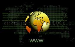 sieć szeroki świat Zdjęcie Stock