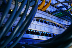 sieć telewizji kablowej obrazy stock