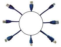 Sieć włączników tło Fotografia Stock