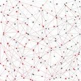 Sieć związki ilustracja wektor