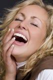 Sie bilden mich Lachen Lizenzfreies Stockfoto