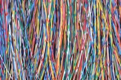 Sieć kabli linie Obrazy Stock