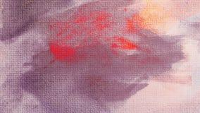 Sie kann als Hintergrund verwendet werden Acrylfarbenfleck Kreativer abstrakter handgemalter Hintergrund Malende Acrylanschläge a lizenzfreie stockfotografie