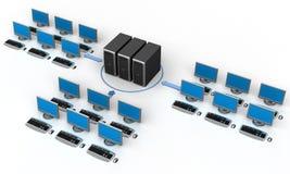 sieć komputerowa Zdjęcia Stock