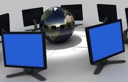 sieć komputerowa Obrazy Stock