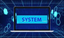 Sieć Komputerowa serweru systemu integracja Zdjęcie Stock