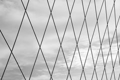 Sieć przeciw niebu Obraz Stock