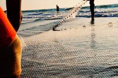 Sieć rybacka - Akcyjny wizerunek fotografia royalty free
