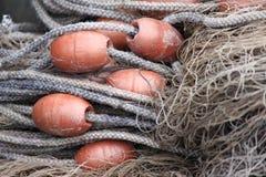 Sieci rybackich ane arkany Obrazy Royalty Free