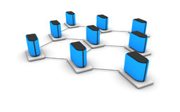 sieć serwer Zdjęcie Stock