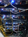 Sieć serwery Zdjęcie Stock