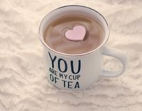 Sie sind meine Tasse Tee Lizenzfreies Stockfoto