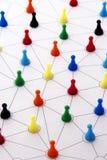 sieć socjalny Zdjęcie Stock