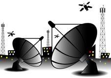 Sieć telekomunikacyjna Obrazy Royalty Free