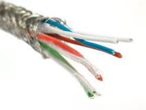 sieć telewizji kablowej Zdjęcia Stock