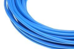 sieć telewizji kablowej niebieski Fotografia Royalty Free