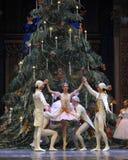 Sie umgaben durch den Ballett-Nussknacker des Clara-Verzeichnis-3-The Lizenzfreies Stockfoto