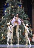 Sie umgaben durch den Ballett-Nussknacker des Clara-Verzeichnis-3-The Lizenzfreies Stockbild