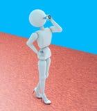 Sie würdevoll Trinkwasser vektor abbildung