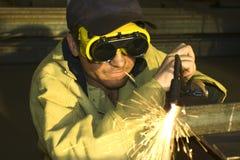 Sie, zum des Metalls zu schneiden? Stockbilder