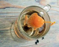 Sieb für Tee Stockfotografie
