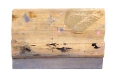 Siebdruck-Gummiwalze Lizenzfreies Stockfoto