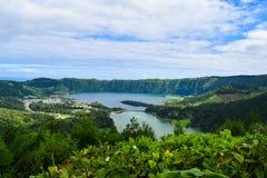 Sieben citys Lagune lizenzfreie stockfotografie