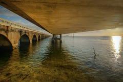 Sieben Meilen-Brücke Lizenzfreie Stockfotos