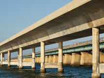 Sieben Meilen-Brücke Stockbild