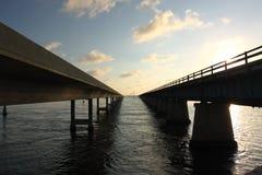 Sieben Meilen-Brücke in den Florida-Tasten Stockfoto