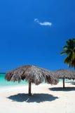 Sieben Meilen setzen, Negril, Jamaika auf den Strand Lizenzfreie Stockfotos