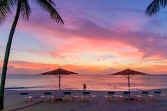 Sieben Meilen-Strand-Spaziergang lizenzfreie stockbilder