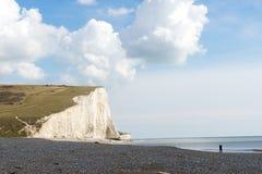7 sieben Schwestern, Brighton, England Lizenzfreie Stockfotografie