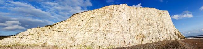 Sieben Schwestern Cliff Brighton East Sussex Sea-Front Lizenzfreies Stockfoto