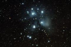 Sieben Schwestern Pleiads Stockfotografie