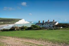 Sieben Schwestern in Sussex stockbilder