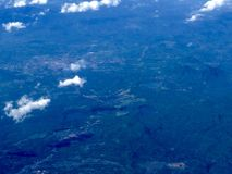 Sieben Seen San Pablo Lizenzfreies Stockbild