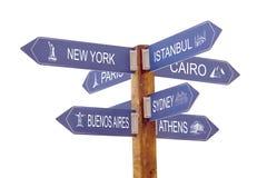 Sieben Städte Lizenzfreies Stockfoto