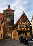 Siebersturm Rothenburg ob dera Tauber Niemcy - Bavaria - fotografia stock