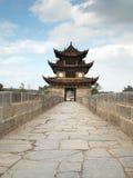 Siebzehn Überspannung brige Jianshui, China lizenzfreies stockbild